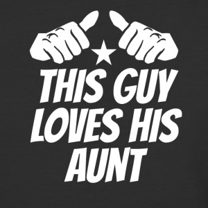 This Guy Loves His Aunt - Baseball T-Shirt