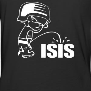 Pee On Isis Decal Look - Baseball T-Shirt