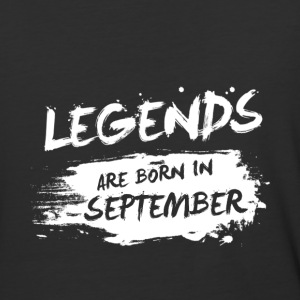 Legends are born in September - Baseball T-Shirt