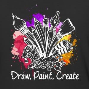 ARTIST DRAW PAINT CREATE SHIRT - Baseball T-Shirt