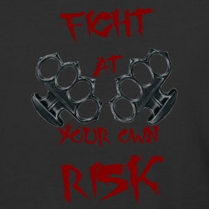 Fight At Your own RISK - Baseball T-Shirt