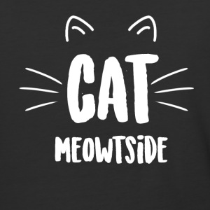 Cat Meowtside - Baseball T-Shirt