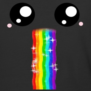 Rainbow Vomit - Baseball T-Shirt