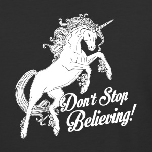 Unicorn Don t Stop Believing - Baseball T-Shirt