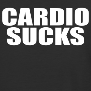 Cardio Sucks - Baseball T-Shirt