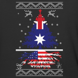 Australian with American root - Baseball T-Shirt