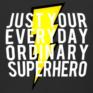 everyday ordinary superhero - Baseball T-Shirt
