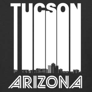 Retro Tucson Arizona Skyline - Baseball T-Shirt
