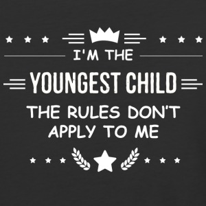 The Youngest The Rules Don't Apply to Me T Shirt - Baseball T-Shirt