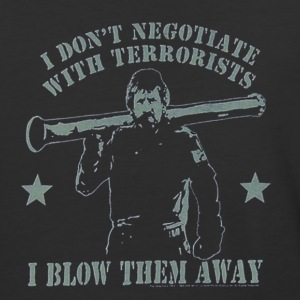 Never negotiate - Baseball T-Shirt