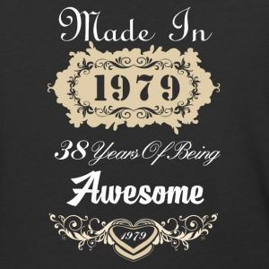 Made in 1979 38 years of being awesome - Baseball T-Shirt