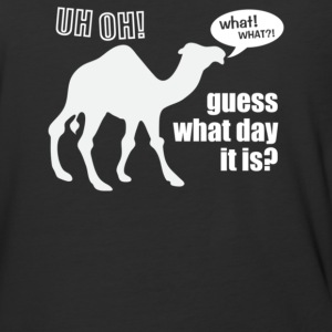 uess What Day It Is Hump Day Camel - Baseball T-Shirt