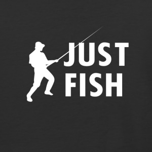 JUST FISH - Baseball T-Shirt