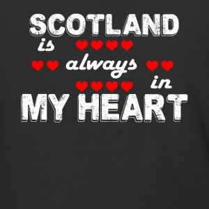 Scotland Always In My Heart T Shirt - Baseball T-Shirt