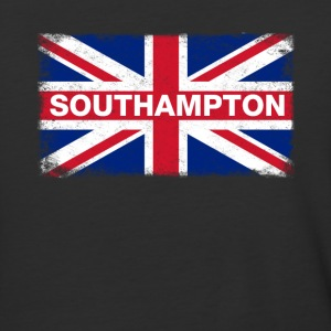 Southampton Shirt Vintage United Kingdom Flag T-Sh - Baseball T-Shirt