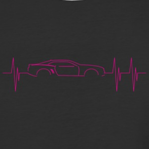 5th Generation Camaro Heartbeat Pink - Baseball T-Shirt