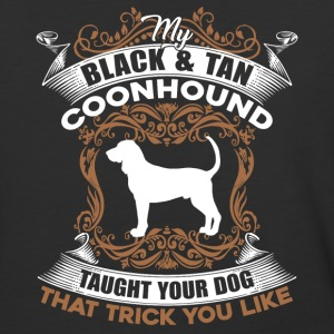 BLACK TAN COONHOUND SHIRT - Baseball T-Shirt