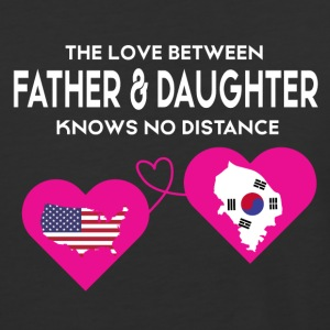 The Love Between Father And Daughter T Shirt - Baseball T-Shirt