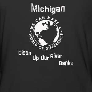 clean up our rifer banks - Baseball T-Shirt