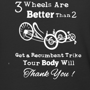 3 Wheels Are Better Than 2 Recumbent Trike T Shirt - Baseball T-Shirt