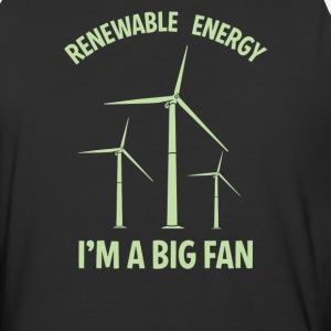 Renewable energy I'm A Big Fan - Baseball T-Shirt