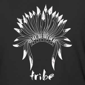 Tribe (Native American White) - Baseball T-Shirt