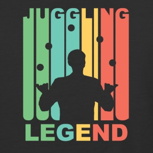 Vintage Juggling Legend Graphic - Baseball T-Shirt