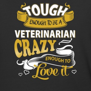 Touch enough to be a Veterinarian - Baseball T-Shirt