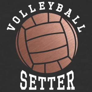 Rose Gold Volleyball Setter - Baseball T-Shirt