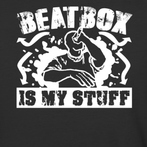 Beatbox Is My Stuff Shirt - Baseball T-Shirt