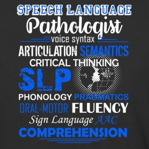 Speech Language Pathologist Shirt - Baseball T-Shirt