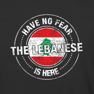 Have No Fear The Lebanese Is Here - Baseball T-Shirt