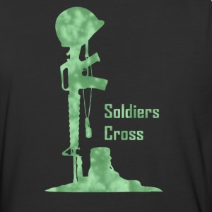 Soldiers Cross - Baseball T-Shirt