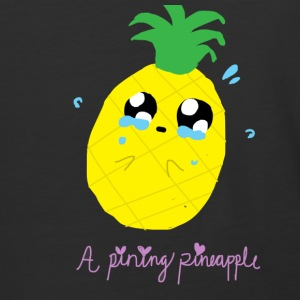 Pining Pineapple - Baseball T-Shirt