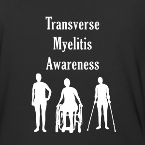 Transverse Myelitis Awareness - Baseball T-Shirt