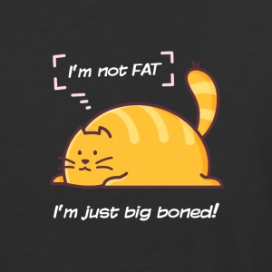 I'm not fat, I'm just big boned - Baseball T-Shirt
