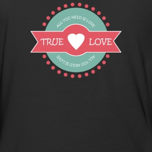 Valentine s Day True Love - Baseball T-Shirt