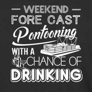 Weekend Forecast Pontooning Shirt - Baseball T-Shirt