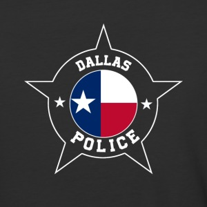 Dallas Police T Shirt - Texas flag - Baseball T-Shirt