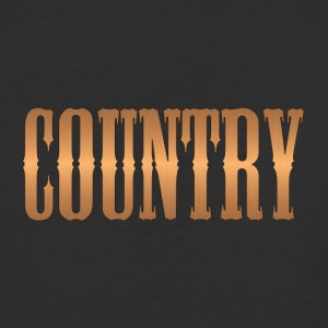 country copper - Baseball T-Shirt