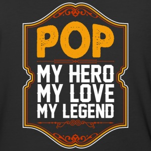 Pop My Hero My Love My Legend - Baseball T-Shirt