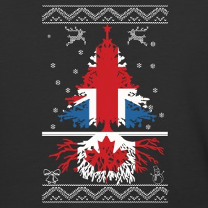 British with Canadian root - Baseball T-Shirt