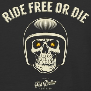 Ride Free or Die - Baseball T-Shirt