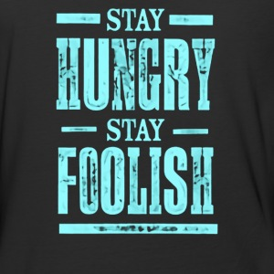 Stay Hungry Stay Foolish - Baseball T-Shirt