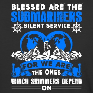 Blessed Are The Submariners Shirt - Baseball T-Shirt