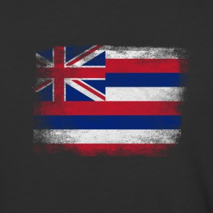 Hawaii American Flag Fusion - Baseball T-Shirt