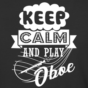 Keep Calm And Play Oboe Shirt - Baseball T-Shirt