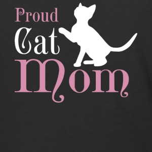 Proud Cat Mom T Shirt - Baseball T-Shirt
