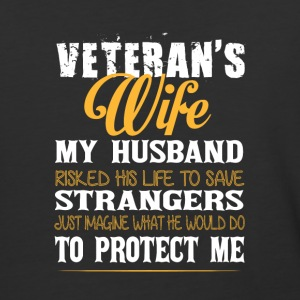 Veteran's Wife Super Veteran T Shirt - Baseball T-Shirt