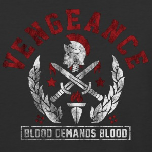 Vengeance Blood Picture - Baseball T-Shirt